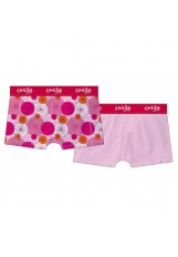 Cavello damesshort 2-pack Flower Pink