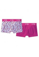 Cavello damesshort 2-pack Women Flower White